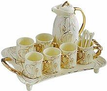 Kaffeetasse Set Europäischen Keramik Kreative