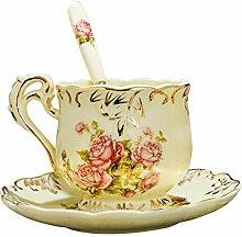 Kaffeetasse Set Vintage Englisch