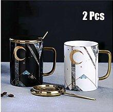 Kaffeetasse Tassen Keramik-Becher Großvolumige