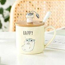 Kaffeetasse Teetasse Becher 700Ml Einlagiges Glas