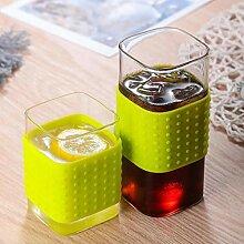 Kaffeetasse Teetasse Becher Creative Square Glass
