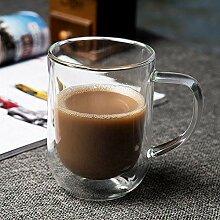 Kaffeetasse Teetasse Becher Glas-Teetasse Mit