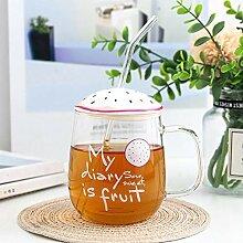 Kaffeetasse Teetasse Becher Koreanische Frucht
