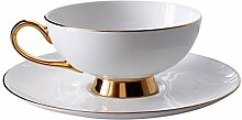 Kaffeetasse und Saucer Set eleganter Tea Cup