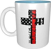 Kaffeetassen & Becher Amerikanische Flagge
