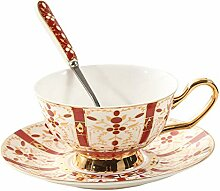 Kaffeetassen Becher Bone China Kaffeetasse