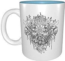 Kaffeetassen & Becher Dämonenschädel Ziege