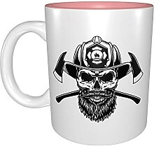 Kaffeetassen & Becher Feuerwehrmann Kaffee
