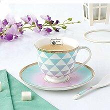 Kaffeetassen Becher Kaffee mit Bone China Tasse