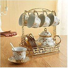 Kaffeetassen Becher Kaffeetasse mit Bone China