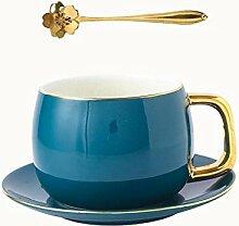 Kaffeetassen Becher Kaffeetasse und Untertasse mit