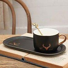 Kaffeetassen Becher Keramik Kaffeetasse Untertasse