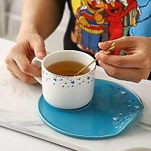 Kaffeetassen Becher Keramische Kaffeetasse mit