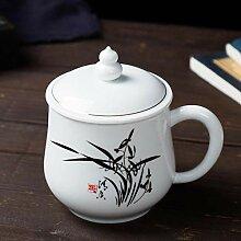 Kaffeetassen Becher Keramische Teetasse mit