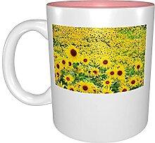 Kaffeetassen & Becher Suower Gelbe Blumen Garten