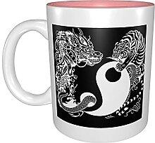 Kaffeetassen & Becher Yin Yang Drache und Tiger