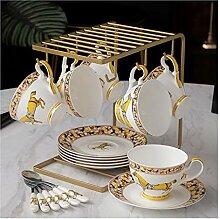 Kaffeetassen High-End-Keramik-Kaffeetasse und