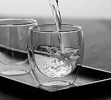Kaffeetassen Hitzebeständige Doppelwandige