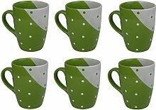 Kaffeetassen / Kaffeebecher aus Steinzeug von
