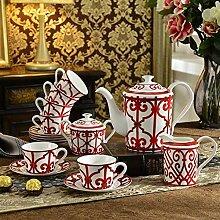 Kaffeetassen Keramiktasse Tasse Blauer Tee
