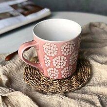 kaffeetassen Kreativ Und Schöne Nordischen Großer Becher Kaffee Zum Frühstück Müsli - Becher Eis Cup Dessert - Cup,F