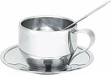 Kaffeetassen-Set, 120 ml, Edelstahl, doppelwandig,
