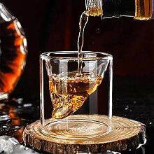 KaffeeTeegläser,Trinkgläser Kaffeebecher geformt