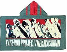 Kagerou Project Jungen Kapuzen-Poncho-Handtuch mit