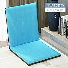 KAHDGYADQF Lazy Sofa Tatami Kissen/Single Folding