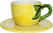 Kaheku Geschirr-Serie Lemoni Teetasse mit