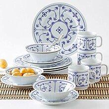Kahla 16G102O75019H Dinnerware of 4 Blau Saks