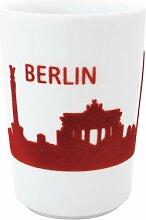 Kahla 394605A26033C Maxi-Becher Berlin Skyline touch! 0.35 L, ro