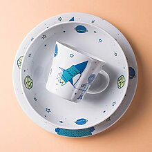 Kahla Kindergeschirr 3-teiliges Set Porzellan mit