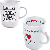 KAHLA Porzellan 2-tlg. Geschenk-Set Happy Cups I