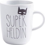 KAHLA Porzellan Pronto Becher 0,35 l Superheldin