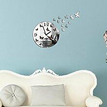 Kaige DIY Wand Uhr Kristall Kombination Wand