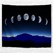 Kaige Tapisserie Mond Änderung Digitaldruck