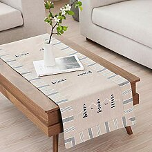 kaige Tischläufer Teetisch Moderne Streifen