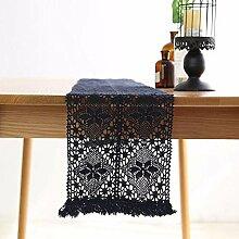 kaige Tischläufer Vintage handgewebten Teppich