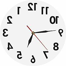 Kaige Wanduhren Acryl Spiegel Wandspiegel Uhr