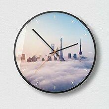 Kaige Wanduhren Elektronische Uhr Wohnzimmer Uhr