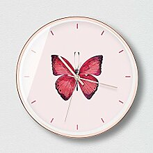 KaigeWanduhren Schmetterling Mute Wanduhr Größe: