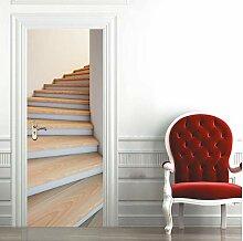 KAINUYA Treppen Tür Art Decor Home Kreative DIY