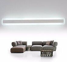 Kairry Badezimmer Spiegel Beleuchtung Led Lampe Einfache Moderne Wand Spiegel Leuchten Spiegel Leuchten Spiegel Vor Dem Badezimmer Spiegel Schrank Licht,100Cm Weiß