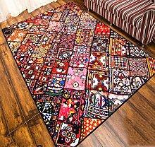 KAIRUI Europäische Retro Ethno-Stil Teppich