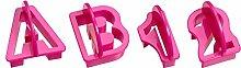 KAISER Alphabet- & Ziffern- Ausstecher-Set