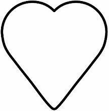 Kaiser Ausstechform Herz, 6 cm, Weihnachten