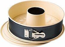 KAISER Springform mit Rohrboden Ø 26 cm Living sehr gute Antihaftbeschichtung attraktiver Zweifarben-Optik Auslaufschutz