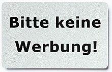 KaiserstuhlCard Magnet 2x Bitte keine Werbung