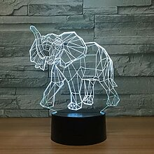 KAIYED 3D Nachtlicht Erstaunliche 3D Illusion